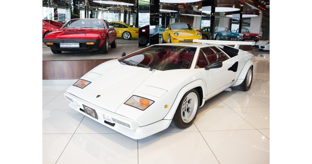 Lamborghini Countach 5000 For Sale Aed 2 500 000 White 1985