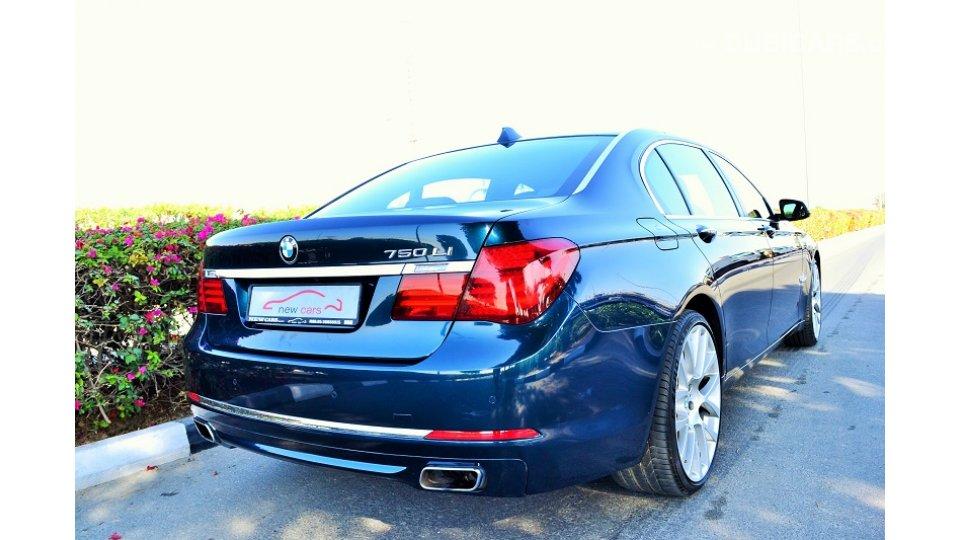 Bmw 750 Li For Sale Aed 118 000 Blue 2013