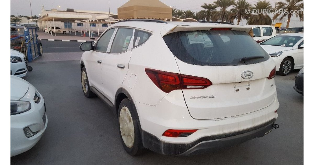 hyundai santa fe 4x4 full option for sale aed 99 000. Black Bedroom Furniture Sets. Home Design Ideas