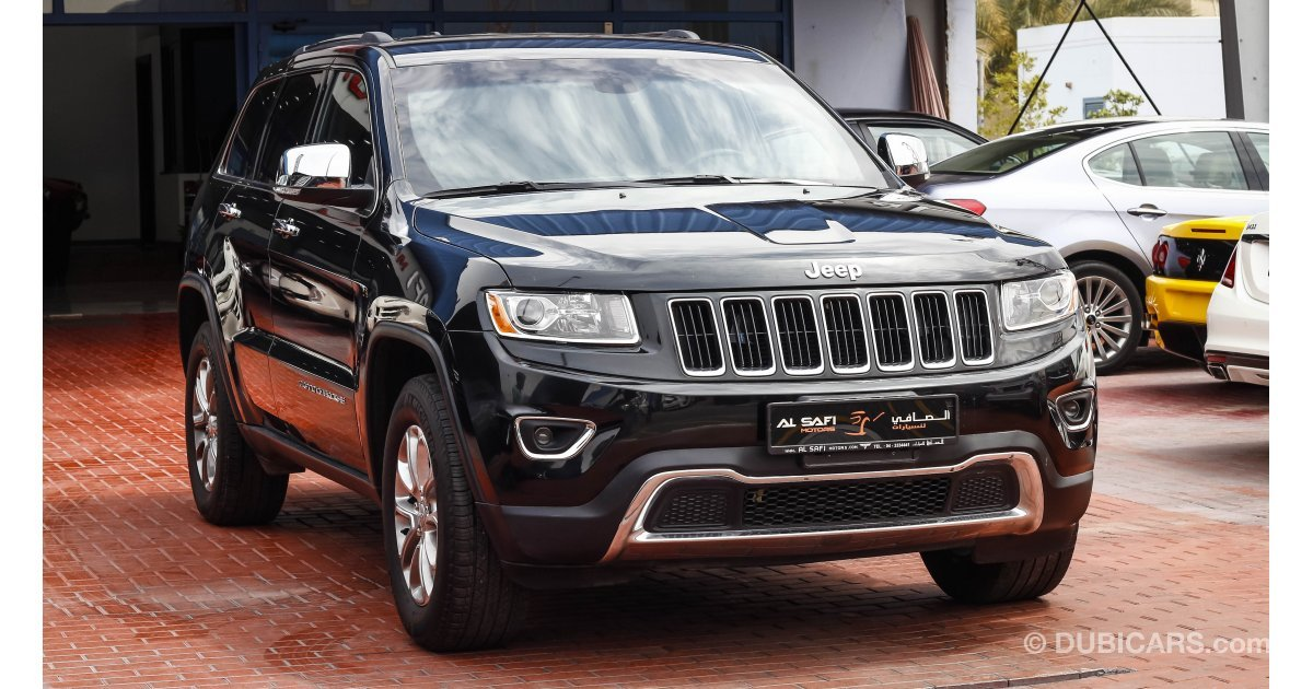 jeep grand cherokee 4x4 limited for sale aed 85 000 black 2014. Black Bedroom Furniture Sets. Home Design Ideas
