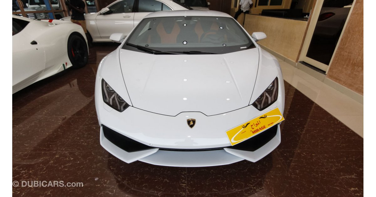 lamborghini huracan lp 610 4 for sale aed 1 249 000 white 2015. Black Bedroom Furniture Sets. Home Design Ideas