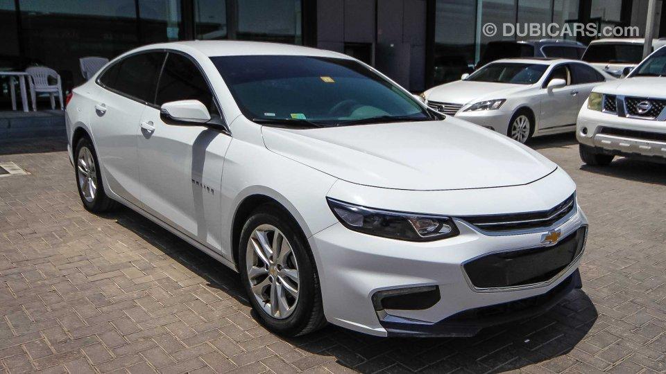 White Malibu Car >> Chevrolet Malibu LT for sale: AED 49,000. White, 2017