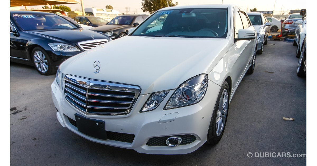 Mercedes benz e 350 for sale aed 72 000 white 2010 for Mercedes benz e 350 for sale