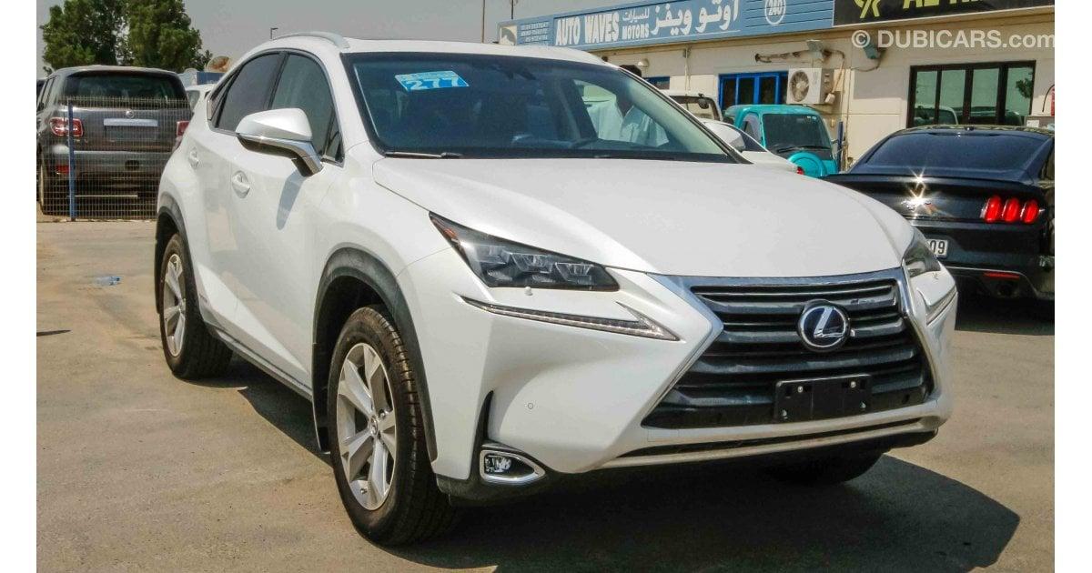 Lexus Nx 300 H For Sale White 2017