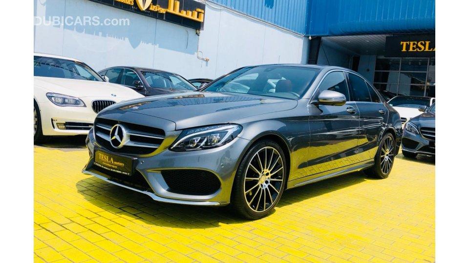 Mercedes-Benz C 200 ///AMG 2018 GCC! WARRANTY 25/09/2022 ...