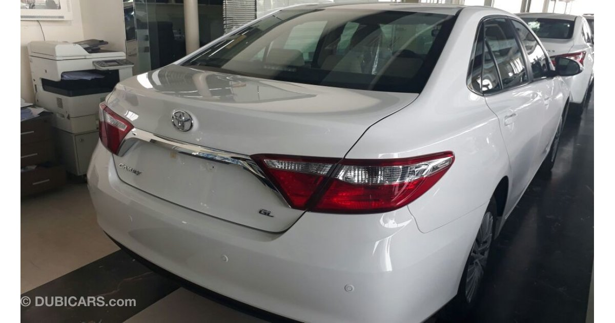 toyota camry gl 2017 bahwan for sale aed 70 500 white 2017. Black Bedroom Furniture Sets. Home Design Ideas