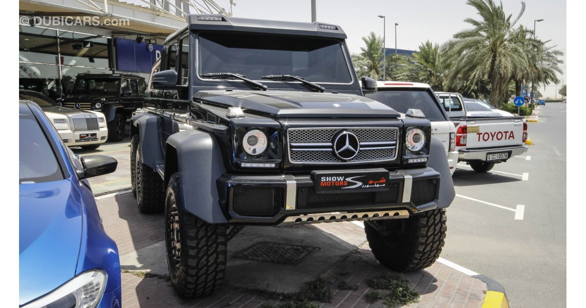 Mercedes benz g 63 amg 6x6 for sale aed 3 000 000 black for Mercedes benz g class 6x6 for sale