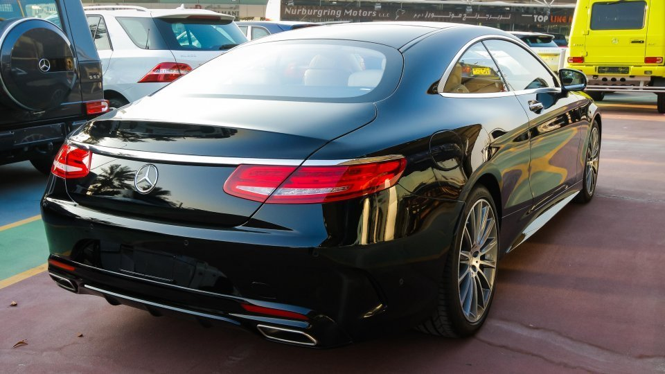 Mercedes-Benz S 400 Coupe for sale: AED 495,000. Black, 2017