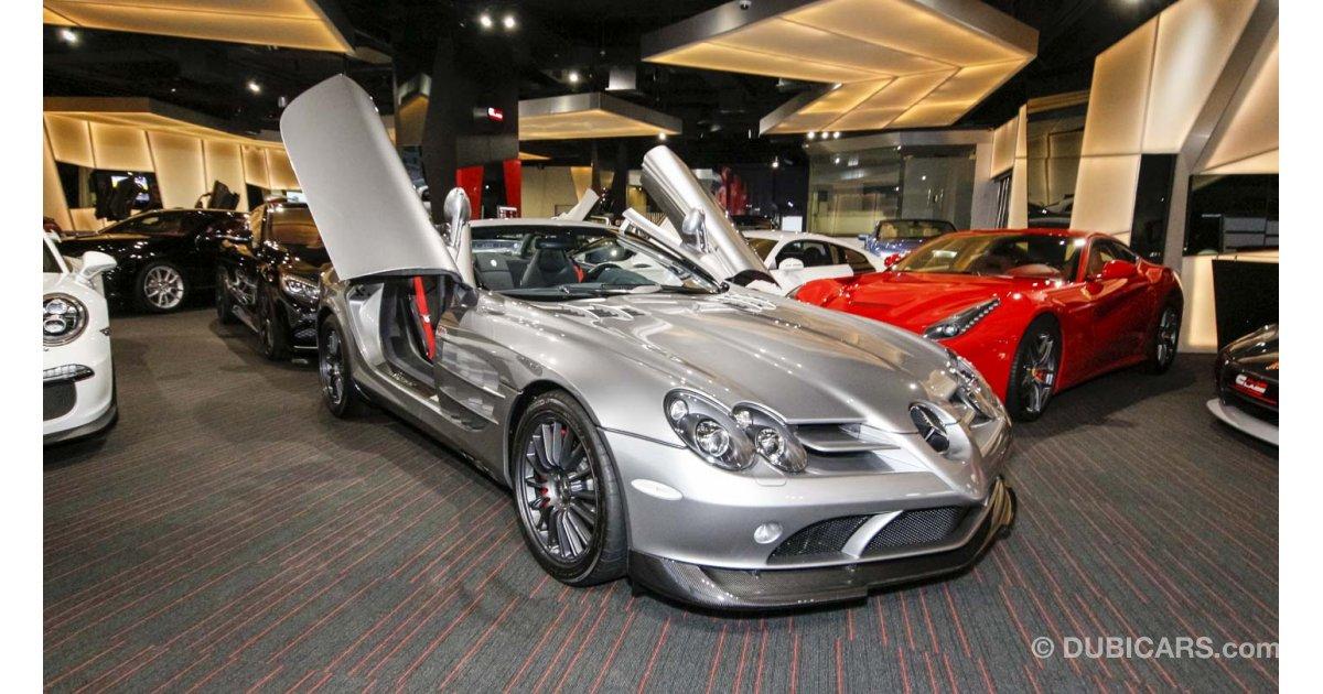 Mercedes Benz Slr Mclaren 722s For Sale Grey Silver 2009