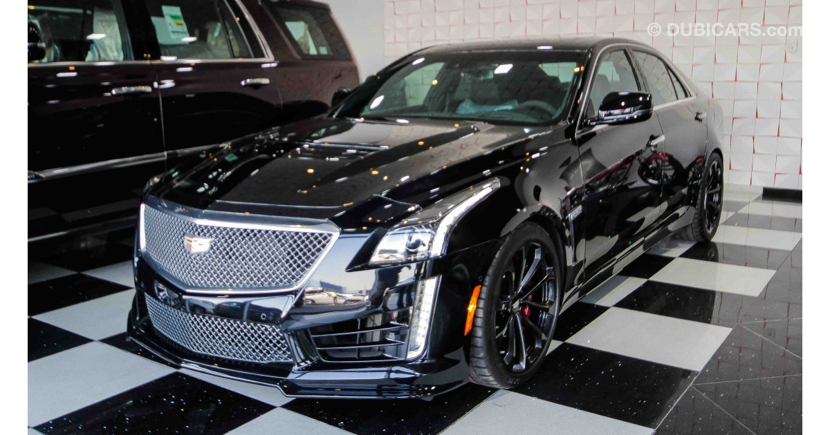 Cadillac Cts V8 For Sale Aed 319 000 Black 2017