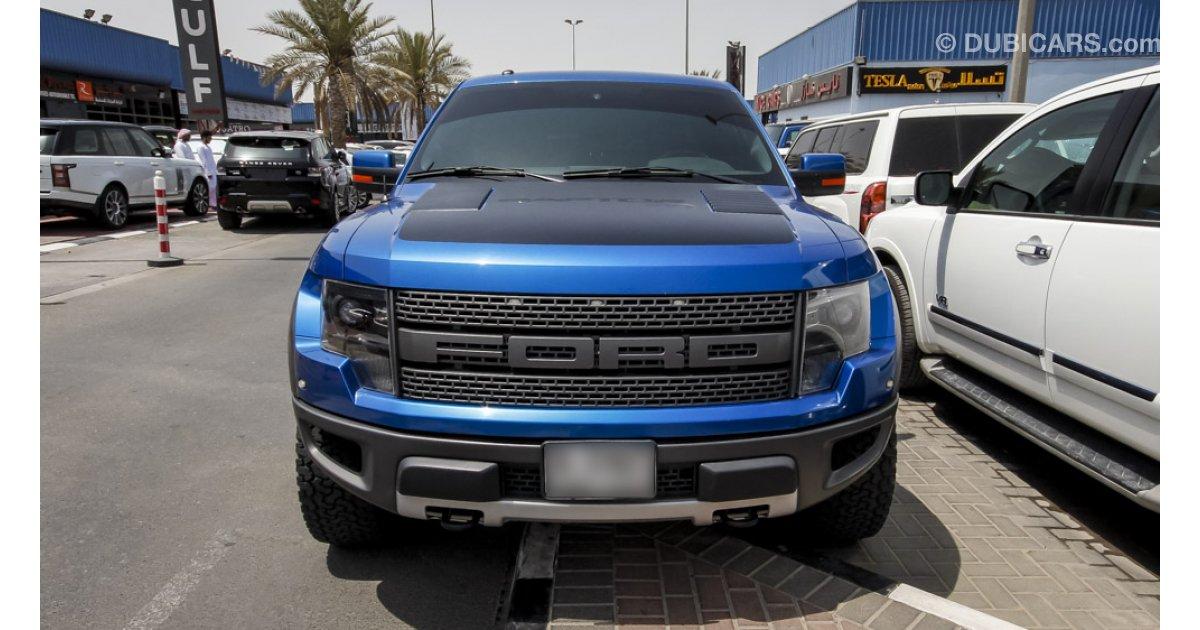 Ford Raptor SVT for sale AED 168 000 Blue 2012