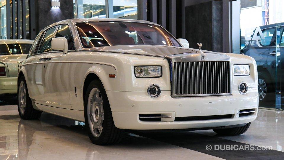 رولز رويس فانتوم للبيع: 450,000 درهم. أبيض, 2012