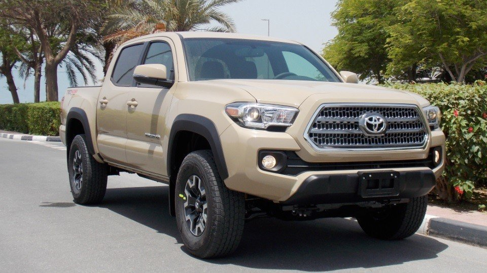 Toyota Tacoma Brand New 2017 V6 3 5 L Short Bed Trd 4wd At