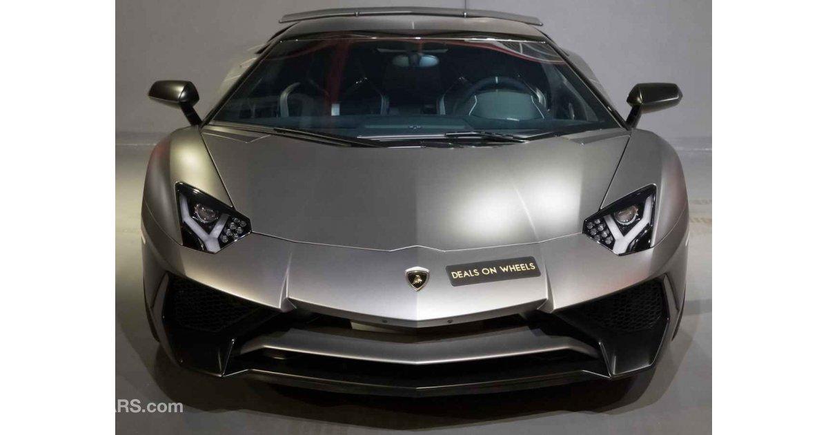 Lamborghini Aventador Sv Roadster Warranty Valid Until
