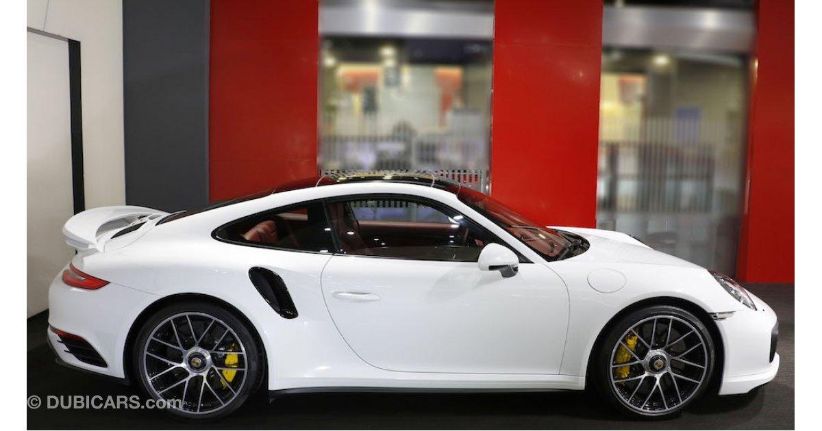 porsche 911 turbo s for sale aed 645 000 white 2017. Black Bedroom Furniture Sets. Home Design Ideas
