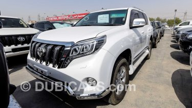 Toyota Prado 3 0 D_4 Turbo With 2016 Body kit right hand drive for