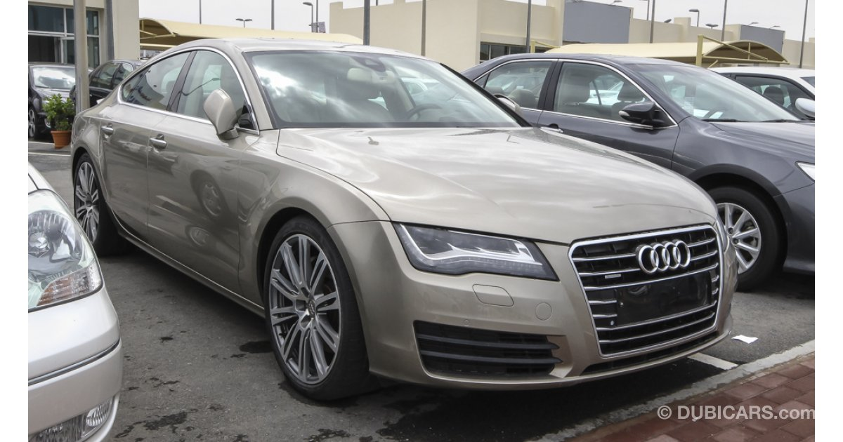 audi a7 audi a7 2011 gcc 3 0 turbu full options for sale aed. Black Bedroom Furniture Sets. Home Design Ideas