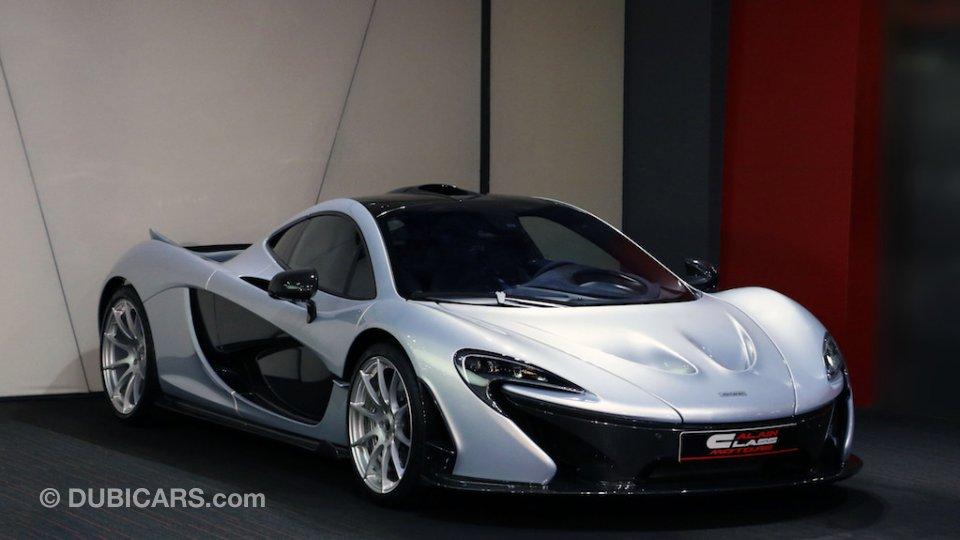 mclaren p1 for sale grey silver 2015. Black Bedroom Furniture Sets. Home Design Ideas