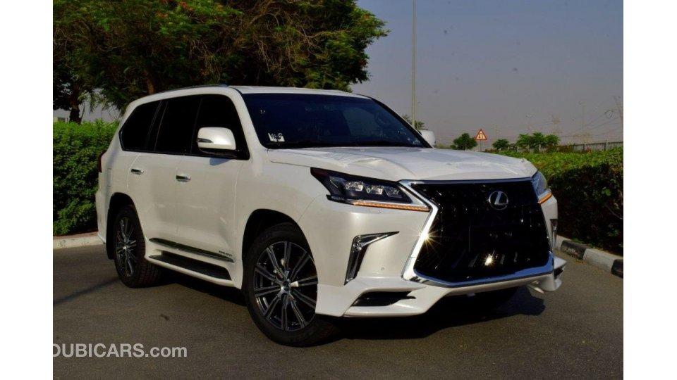 White Lexus Suv >> Lexus LX 450 Diesel SUPERSPORT for sale. White, 2019