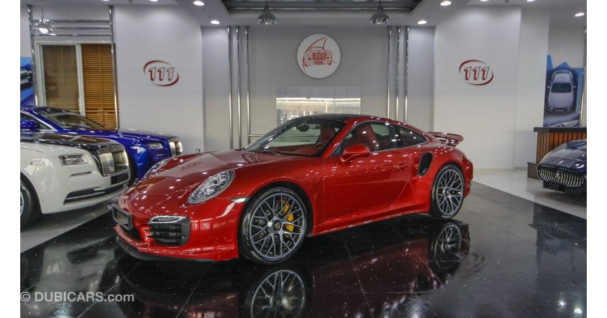 porsche 911 turbo s for sale aed 490 000 red 2014. Black Bedroom Furniture Sets. Home Design Ideas