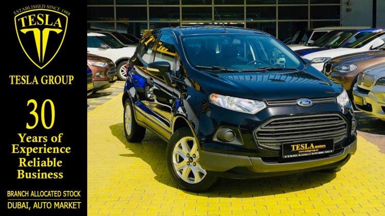 Used Ford Eco Sport For Sale In Dubai Uae Dubicars Com