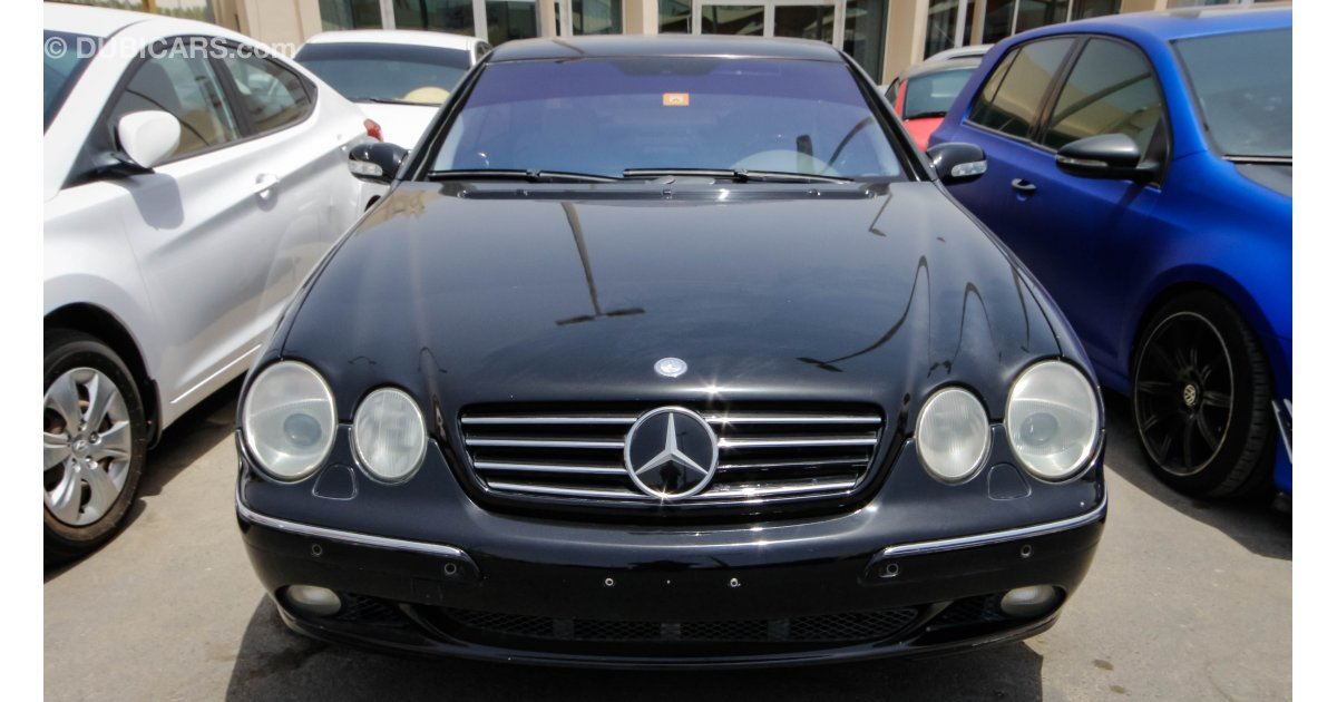 Mercedes benz cl 600 for sale aed 12 000 black 2000 for Mercedes benz 600 for sale