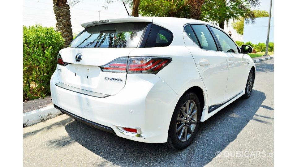 Lexus Ct200h For Sale >> Lexus CT 200h for sale: AED 59,000. White, 2012