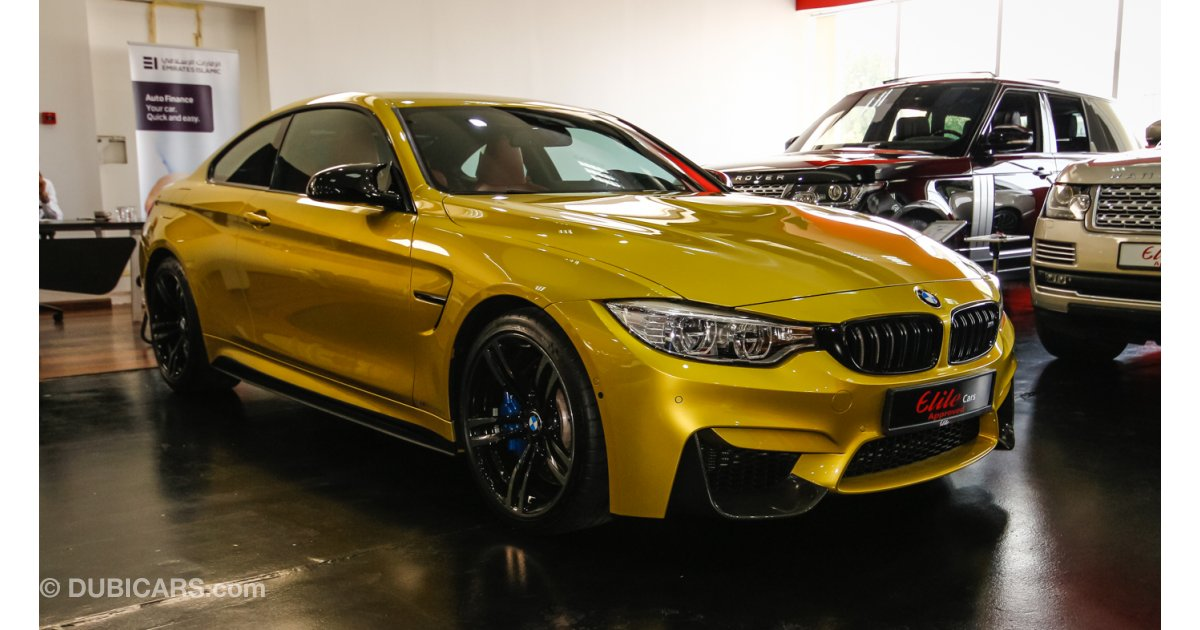 Bmw M4 For Sale Aed 359 000 Gold 2016