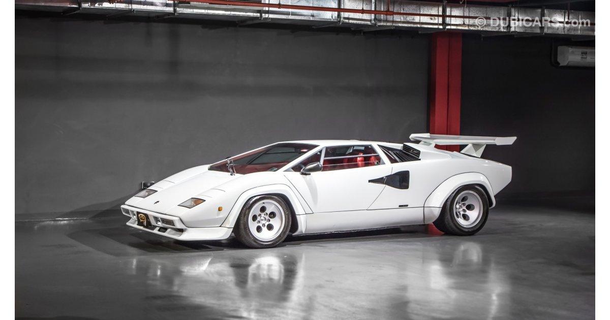 Lamborghini Countach 5000 Qv For Sale Aed 1 799 000