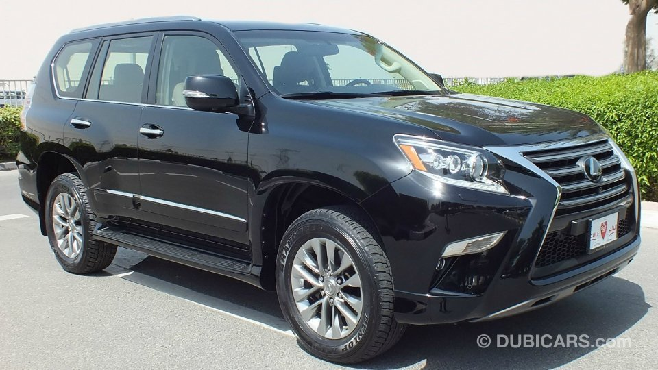 lexus gx 460 for sale aed 165 000 black 2015. Black Bedroom Furniture Sets. Home Design Ideas