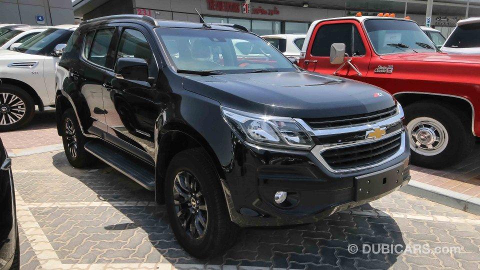 Chevrolet Trailblazer Z71 4x4 For Sale Aed 95000 Black 2018