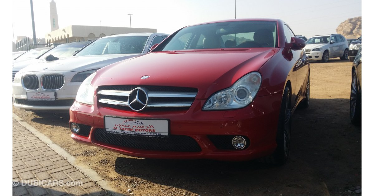 Mercedes benz cls 500 gcc full option for sale aed 55 000 for Mercedes benz 2009 for sale