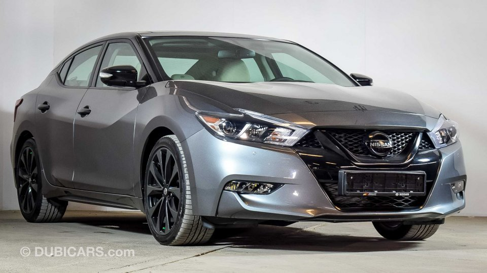 Nissan Used Cars For Sale >> Nissan Maxima SR for sale: AED 118,900. Grey/Silver, 2018