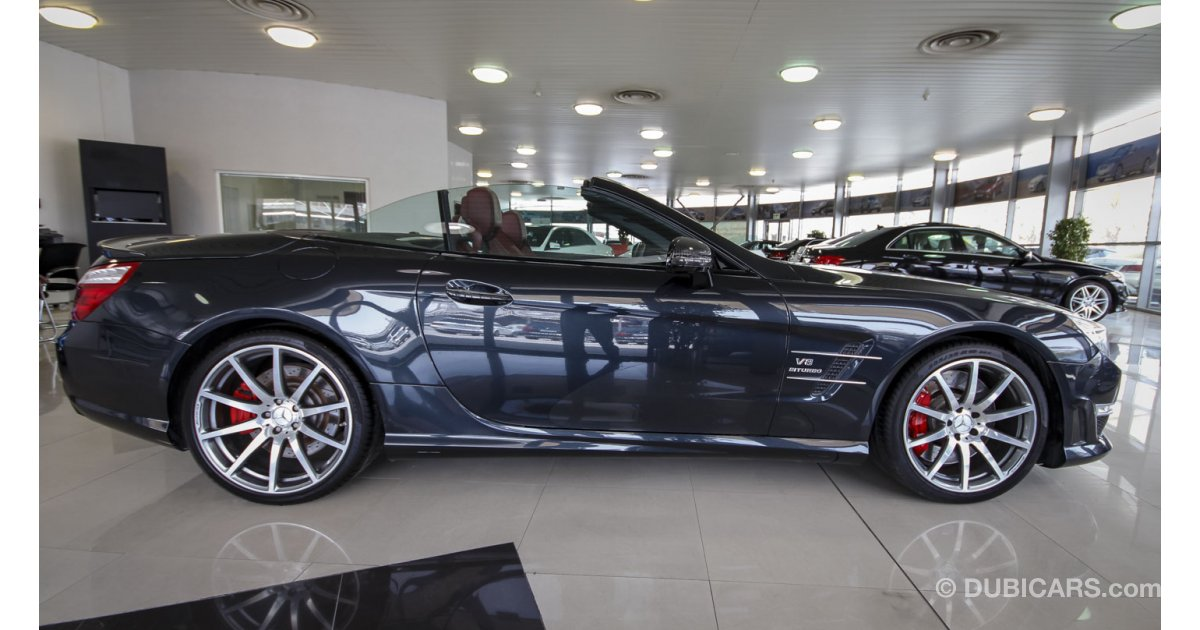 mercedes benz sl 63 amg v8 biturbo for sale aed 375 000