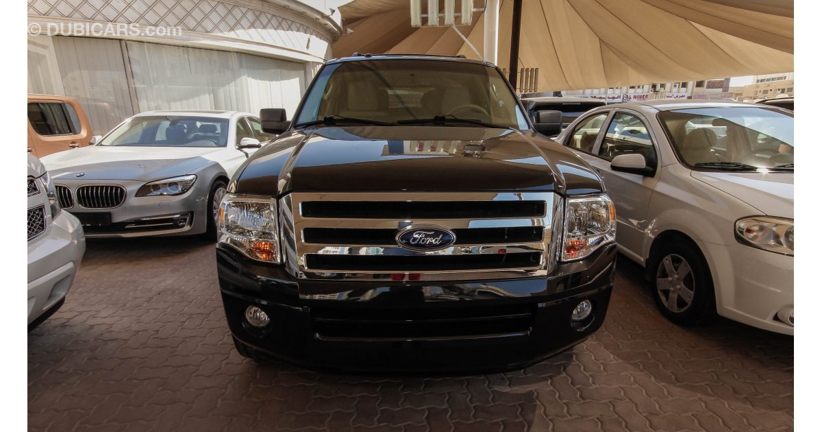 ford expedition xlt for sale aed 80 000 black 2014. Black Bedroom Furniture Sets. Home Design Ideas
