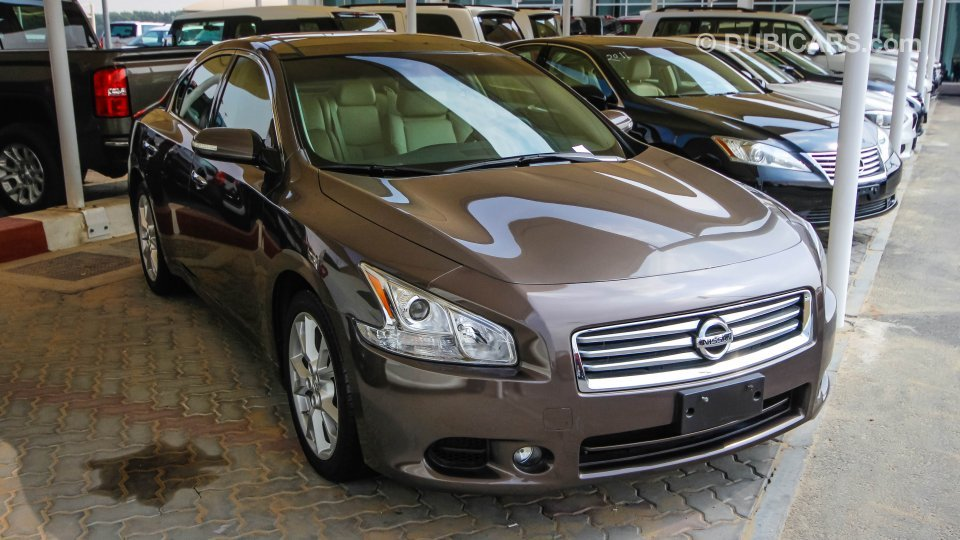 Nissan Used Cars For Sale >> Nissan Maxima for sale: AED 48,000. Brown, 2014