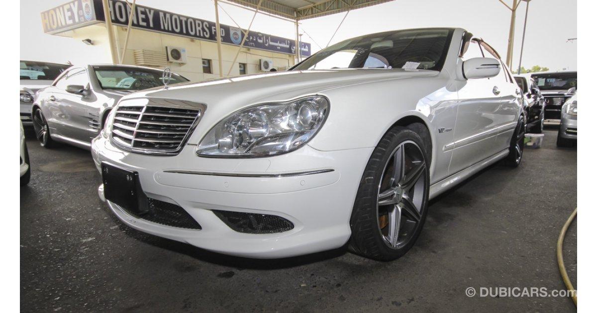 Mercedes benz s 65 amg v12 bi turbo for sale white 2004 for Mercedes benz v12 price