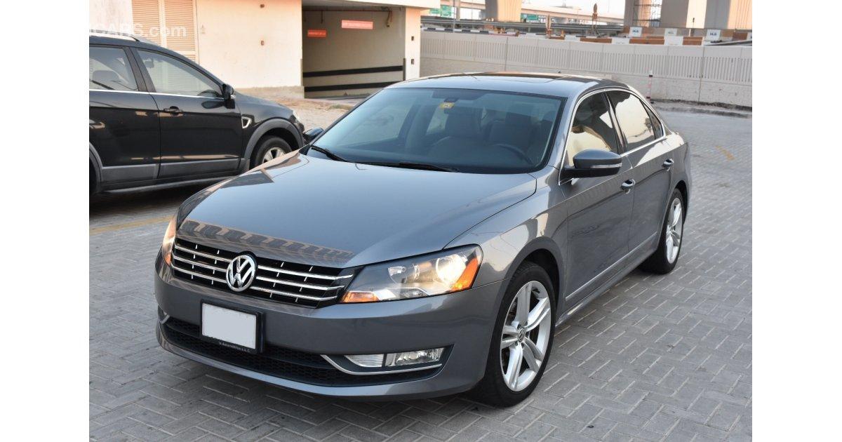 Volkswagen Passat for sale: AED 42,500. Grey/Silver, 2013