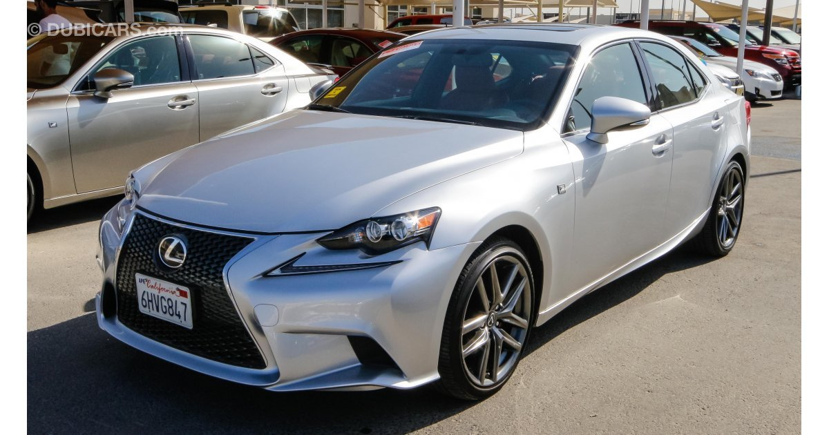 lexus is 250 for sale aed 85 000 grey silver 2015. Black Bedroom Furniture Sets. Home Design Ideas
