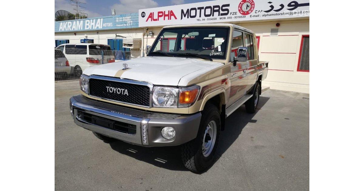 Toyota Land Cruiser Pickup 2018 V6 Gasoline Mid Options