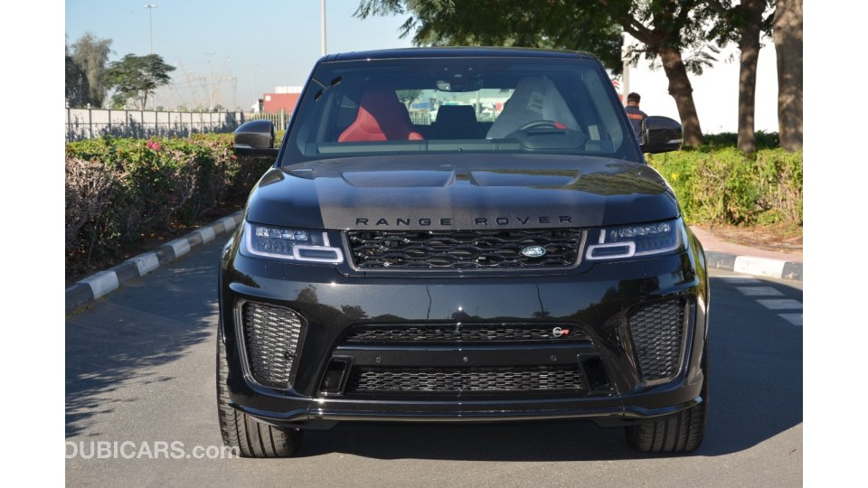 Range Rover Svr Price >> Land Rover Range Rover Sport Svr Special Offer Brand New 2020 With Full Carbon Fiber For Sale Aed 555 000