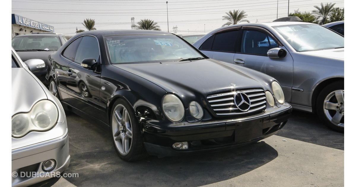 Mercedes benz clk 320 for sale aed 15 000 black 1999 for Mercedes benz clk500 for sale