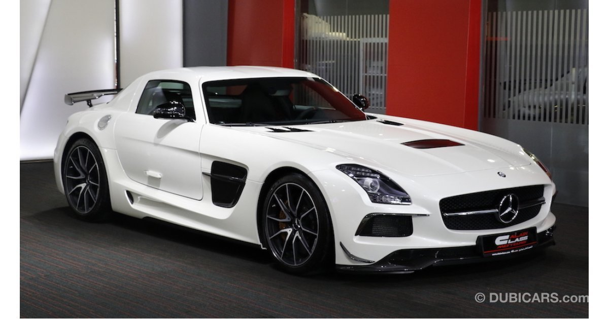 Mercedes benz sls amg black edition for sale white 2014 for Used mercedes benz sls amg for sale