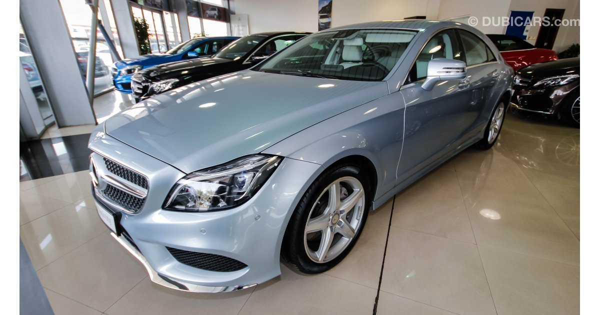 mercedes benz cls 400 for sale aed 299 000 grey silver 2016. Black Bedroom Furniture Sets. Home Design Ideas