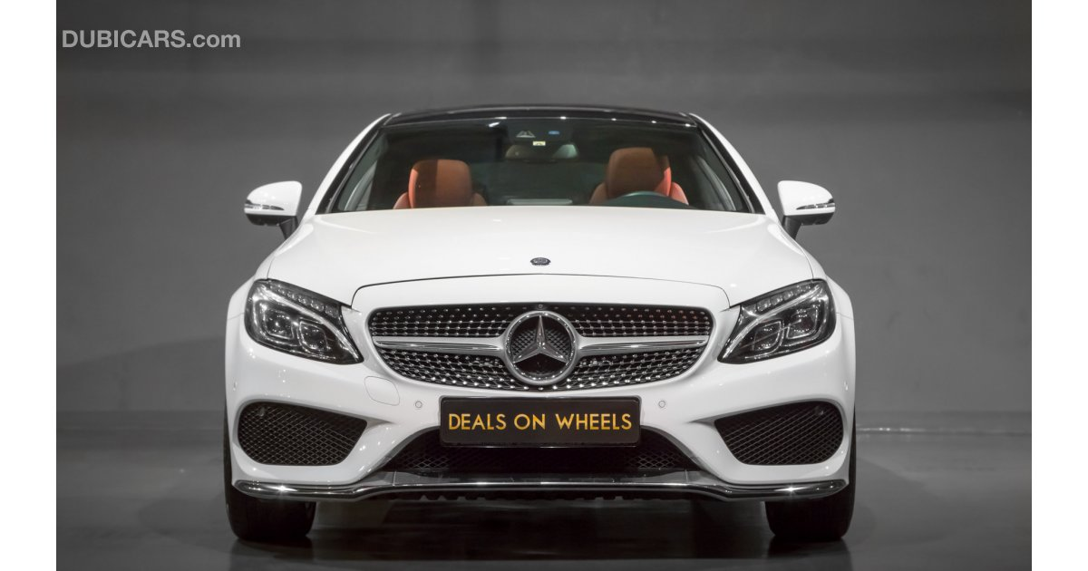 Mercedes benz c 200 coupe under warranty for sale aed for Mercedes benz service b cost c300
