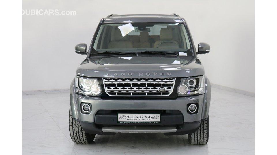 Land Rover LR4 HSE 2016 GCC - October 2020 Land Rover ...