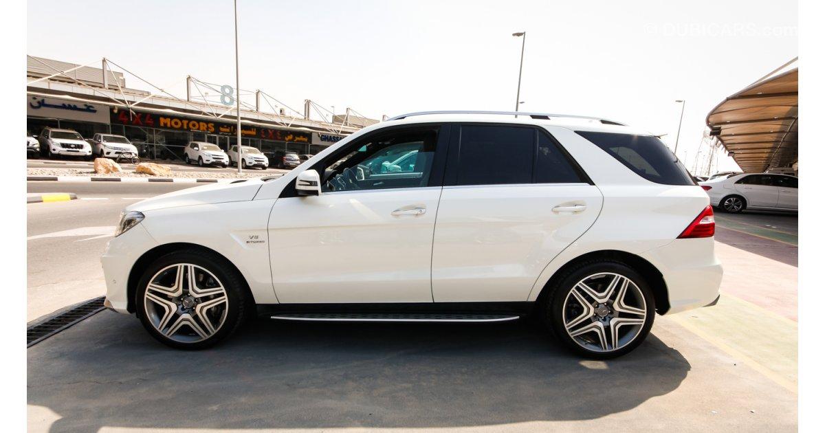 Mercedes benz ml 63 amg v8 biturbo for sale aed 329 000 for Mercedes benz v8 biturbo price