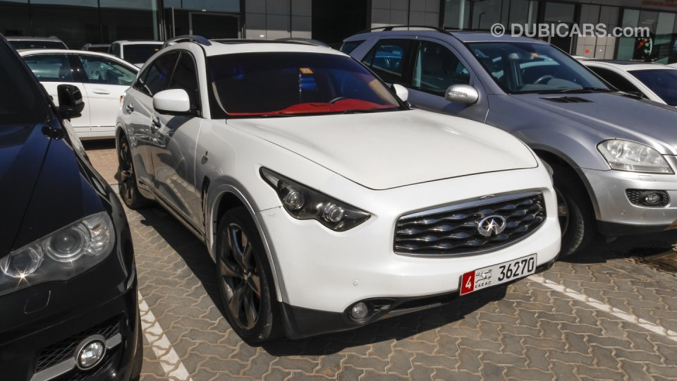 Infiniti fx50 s for sale white 2008 for South motors infiniti used cars