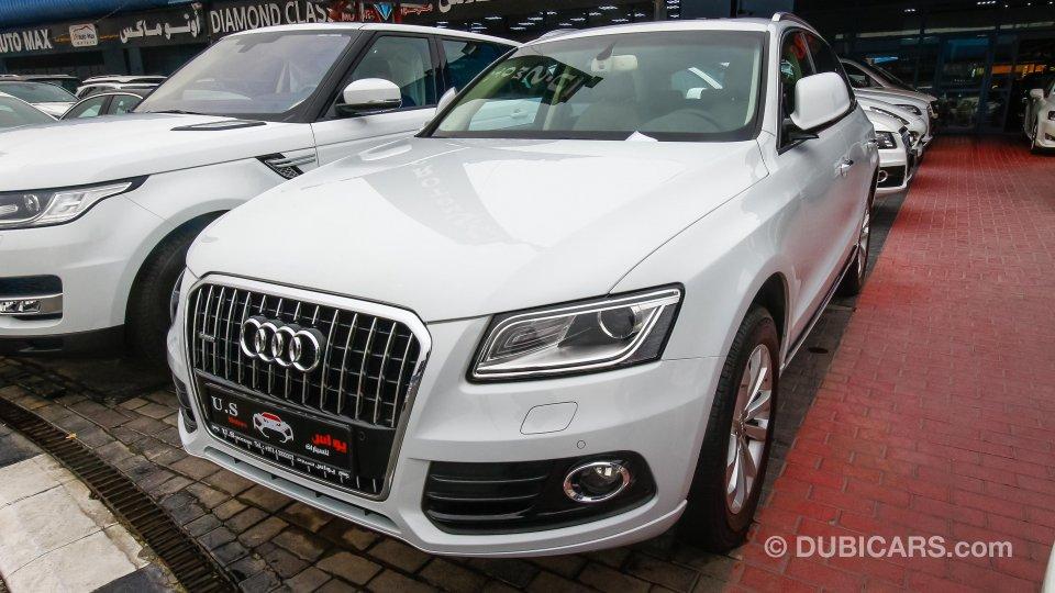 Audi Q5 40 Tfsi Quattro For Sale Aed 138 000 White 2016