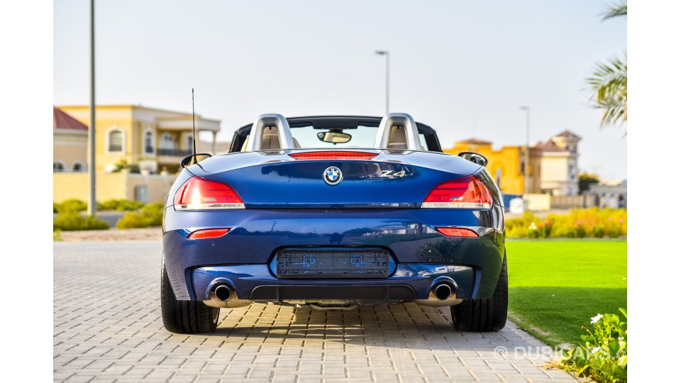 Bmw Z4 S Drive 35is For Sale Aed 84 000 Blue 2012